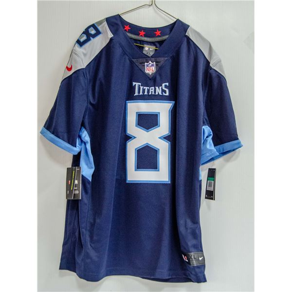 TITANS MARIOTA #8 NIKE JERSEY NEW WITH TAGS $140