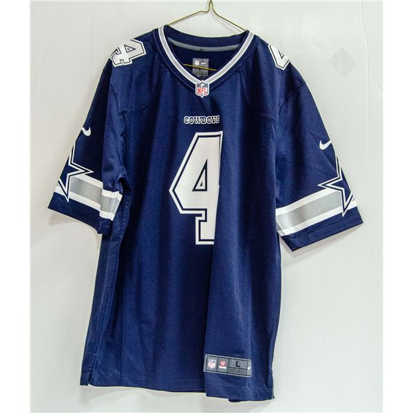 COWBOYS PRESCOTT #4 NFL NIKE JERSEY NEW WITH TAGS