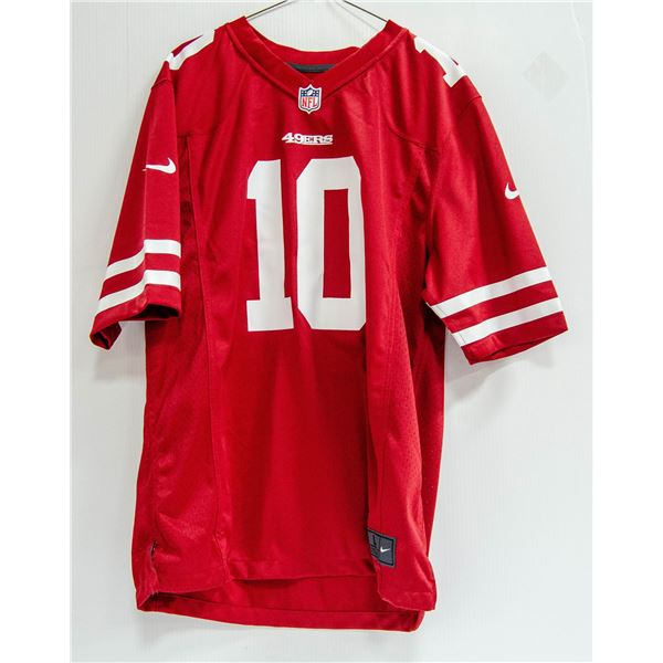 49ERS GAROPPOL #10 NFL NIKE JERSEY NEW WITH TAGS