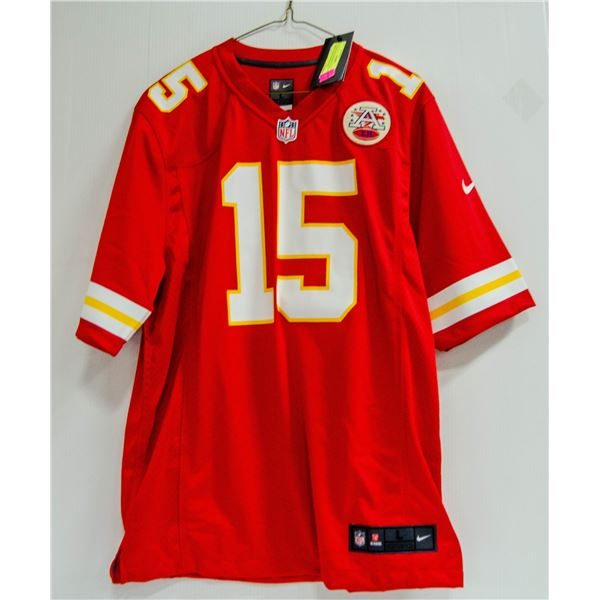 CHIEFS MALHOMES #15 NFL NIKE JERSEY NEW WITH TAGS