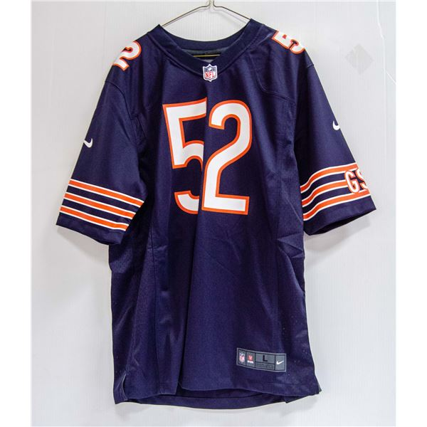 BEARS MACK #52 NIKE JERSEY NEW WITH TAGS $140