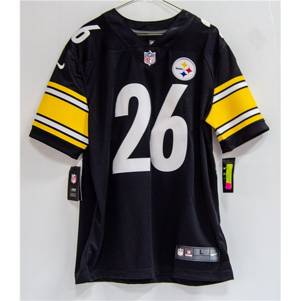 STEELERS BELL #26 NFL NIKE JERSEY NEW WITH TAGS