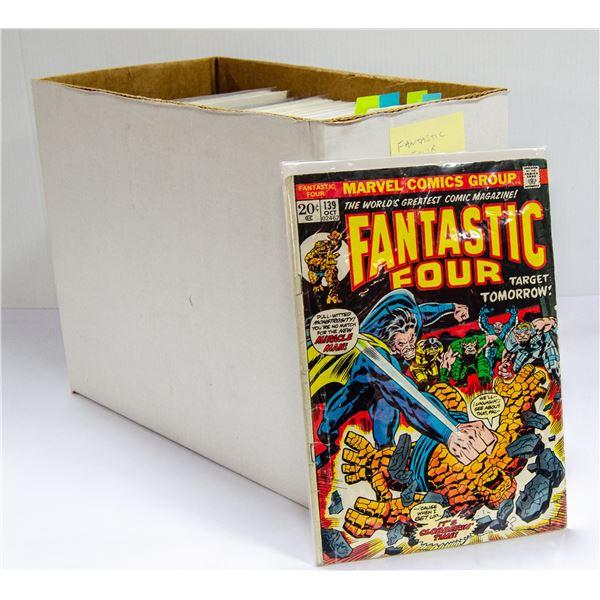 BOX OF FANTASTIC FOUR COMICS 104 ISSUES 9 KEY
