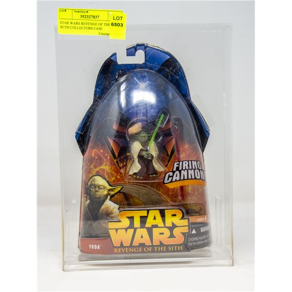 STAR WARS REVENGE OF THE SITH WITH COLLECTORS CASE