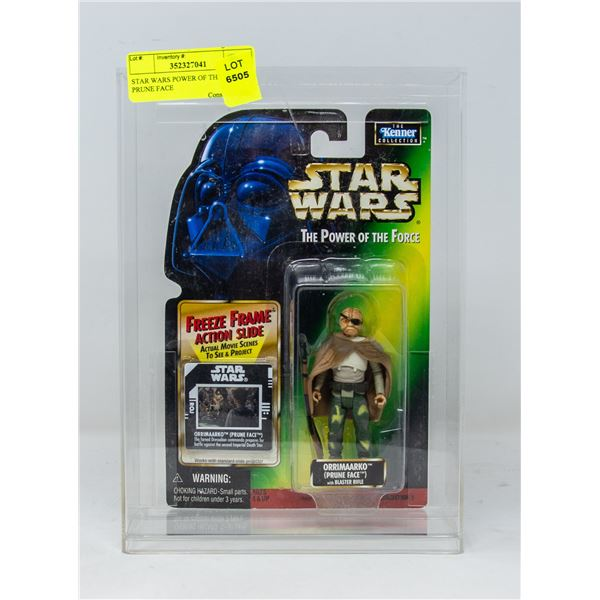 STAR WARS POWER OF THE FORCE PRUNE FACE