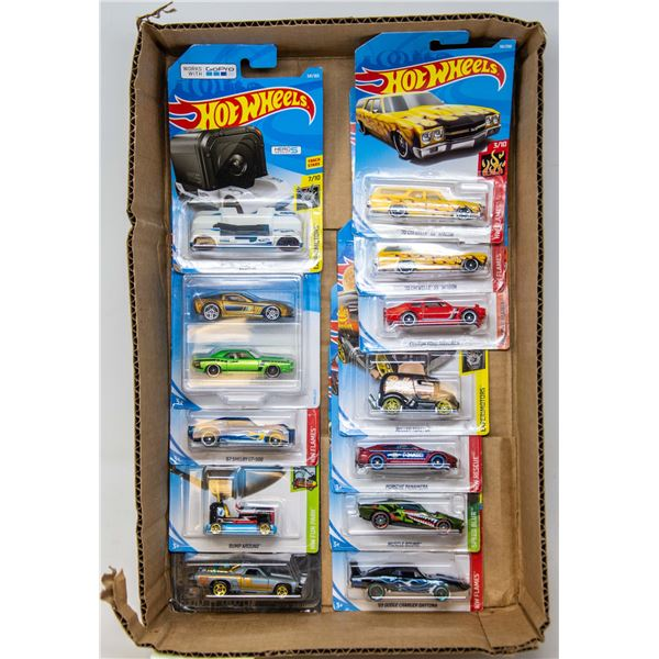 HOT WHEELS LOT OF DIECAST CARS SEALED