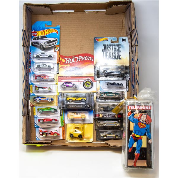 FLAT OF HOT WHEELS COLLECIBLE CARS
