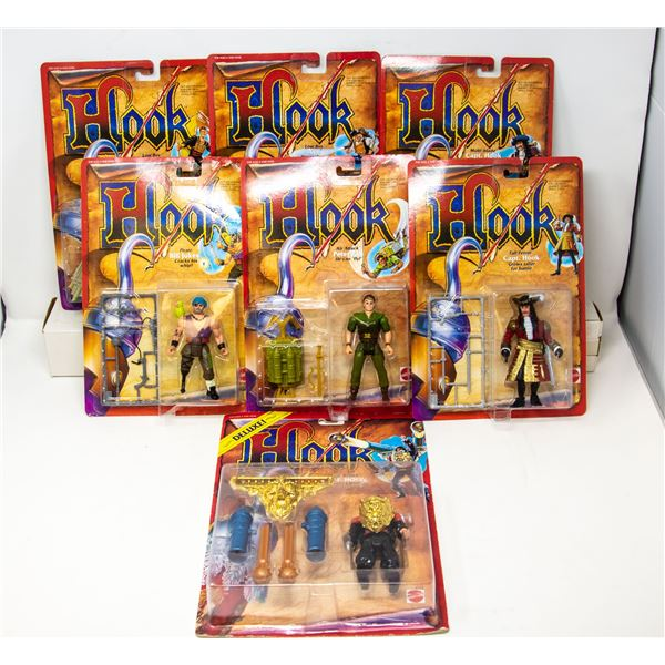 COLLECTIBLE FIGURES FROM HOOK THE MOVIE