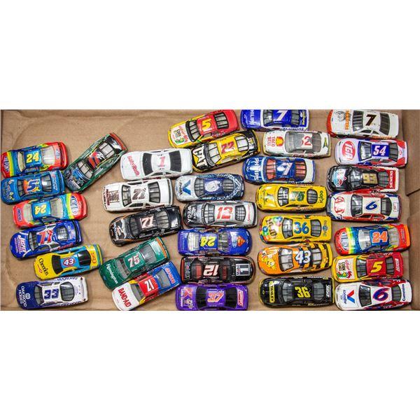 FLAT OF LOOSE NASCAR CARS