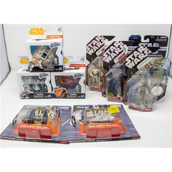 LOT OF COLLECTIBLE STAR WARS ITEMS