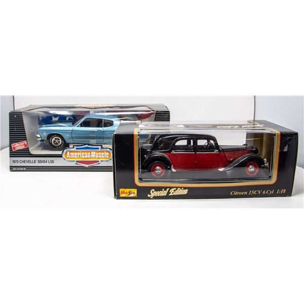 LOT OF COLLECTIBLE VEHICLES IN SEALED BOXES