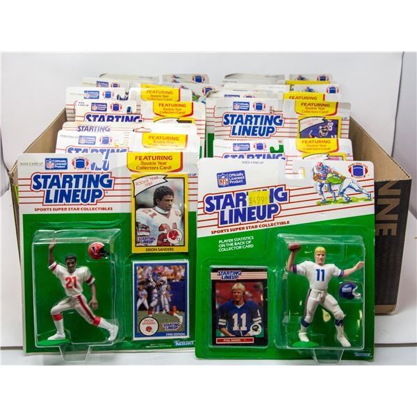 FLAT OF STARTING LINEUP FIGURES
