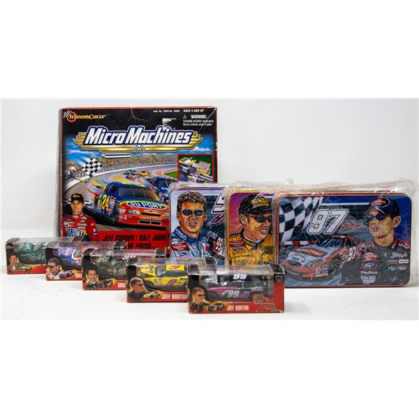 LOT OF COLLECTIBLE NASCAR ITEMS