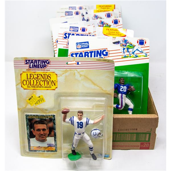 COLLECTORS STARTING LINEUP FIGURE LOT