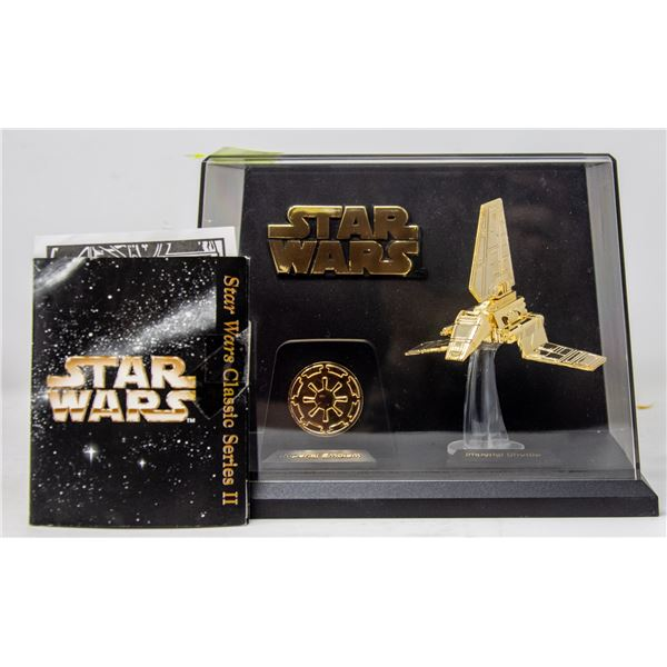 STAR WARS CLASSIC SERIES GOLD COLOR SHIP
