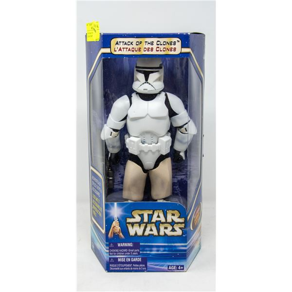 STAR WARS ATTACK OF THE CLONES STORMTROOPER