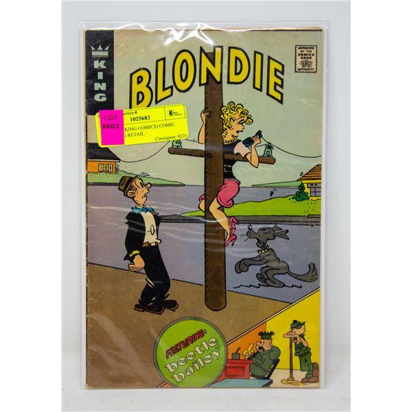 BLONDIE (KING COMICS) COMIC SUPRISING RETAIL