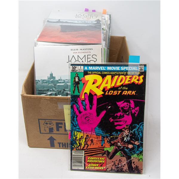 MOVIE COMICS RAIDERS OF THE LOST ARK, STAR WARS,