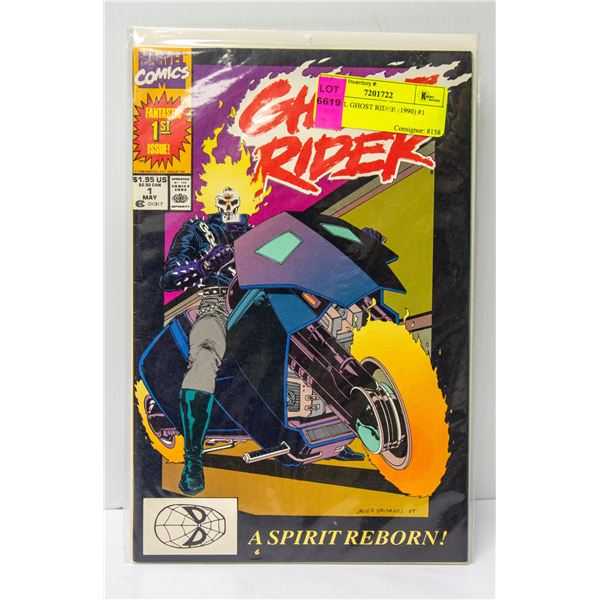 MARVEL GHOST RIDER (1990) #1 COMIC