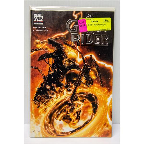 MARVEL GHOST RIDER (2005) #1 COMIC