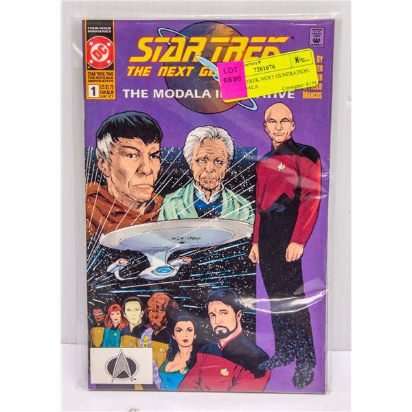 DC STAR TREK NEXT GENERATION: THE MODALA