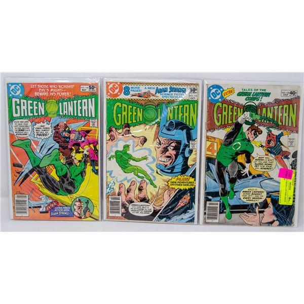 DC COMICS GREEN LANTERN ISSUE 130, 133, 140