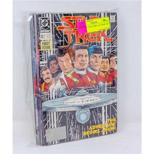 DC STAR TREK (1989) 1-19 COMIC SET