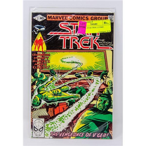 MARVEL STAR TREK 2 COMIC