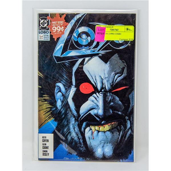 DC LOBO #1 (1990) COMIC