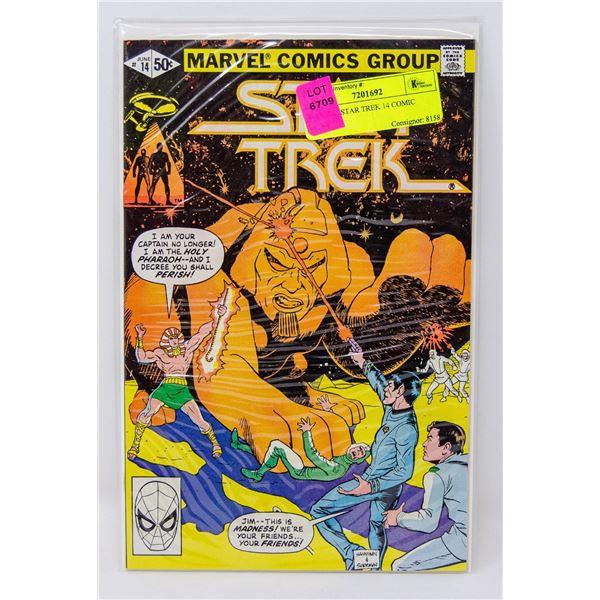 MARVEL STAR TREK 14 COMIC