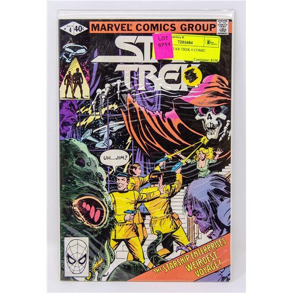 MARVEL STAR TREK 4 COMIC