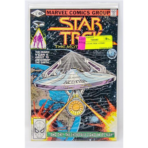 MARVEL STAR TREK 3 COMIC