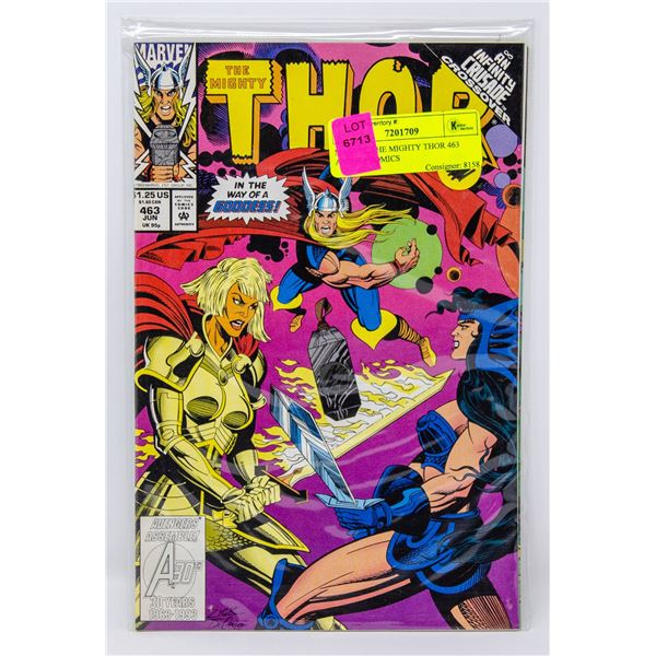 MARVEL THE MIGHTY THOR 463 AND 464 COMICS