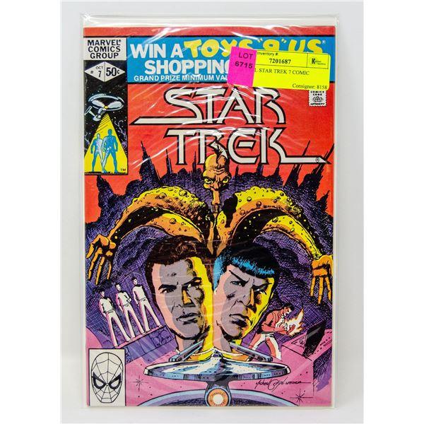 MARVEL STAR TREK 7 COMIC