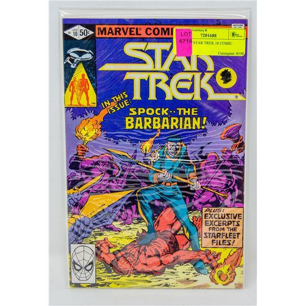 MARVEL STAR TREK 10 COMIC