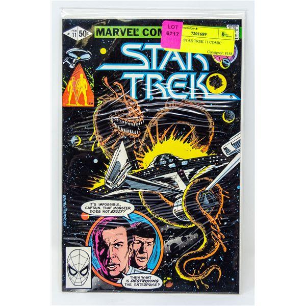 MARVEL STAR TREK 11 COMIC