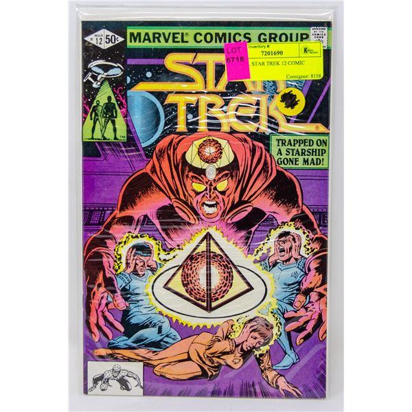 MARVEL STAR TREK 12 COMIC