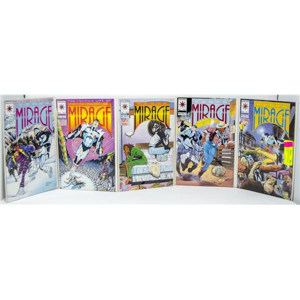 LOT OF 5 DC COMICS THE SECOND LIFE OF DOCTOR