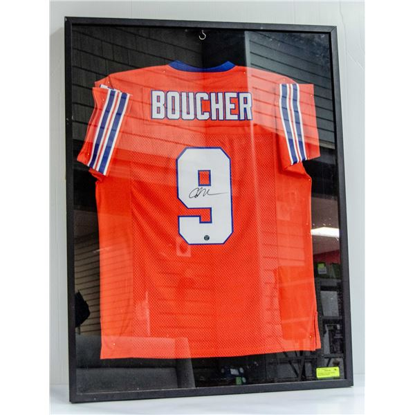 WATERBOY BOUCHER SIGNED SHADOWBOX JERSEY