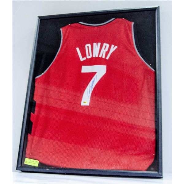 LOWRY SIGNED SHADOWBOX JERSEY