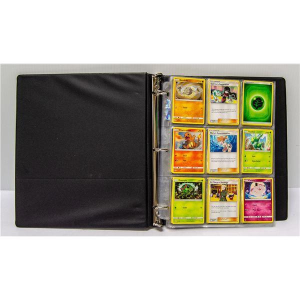 180 POKEMON COLLECTORS CARDS IN BINDER