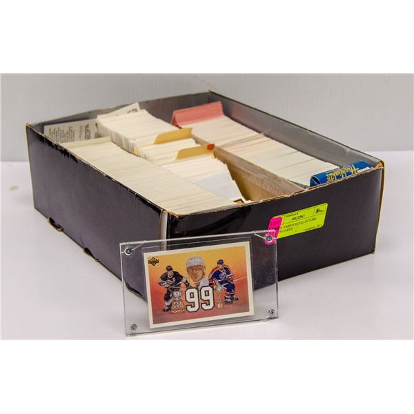 BOX OF VARIOUS COLLECTORS SPORTS CARDS