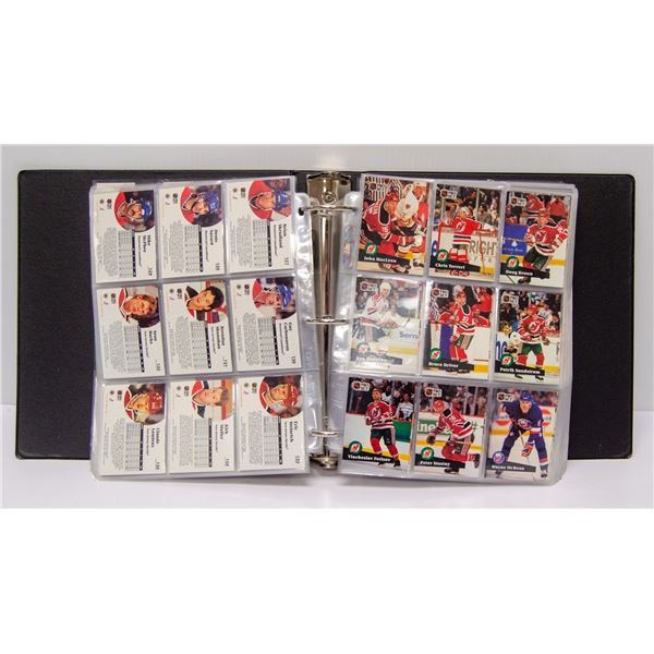 1991 COMPLETE SET OF PROSET HOCKEY CARDS IN