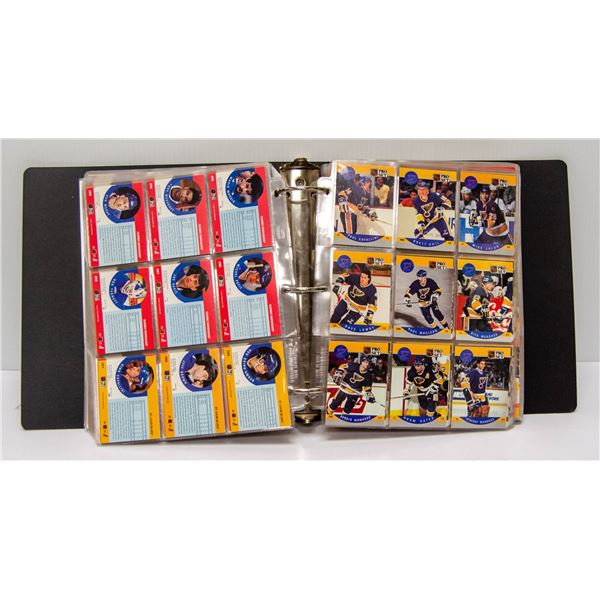 1990 COMPLETE SET OF PROSET HOCKEY CARDS IN