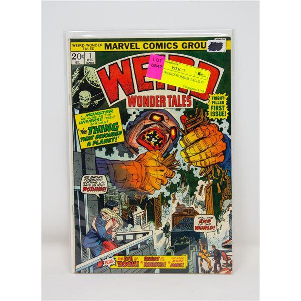 MARVEL WEIRD WONDER TALES #1