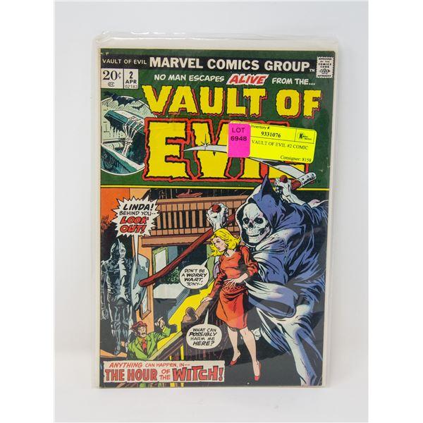 MARVEL VAULT OF EVIL #2 COMIC