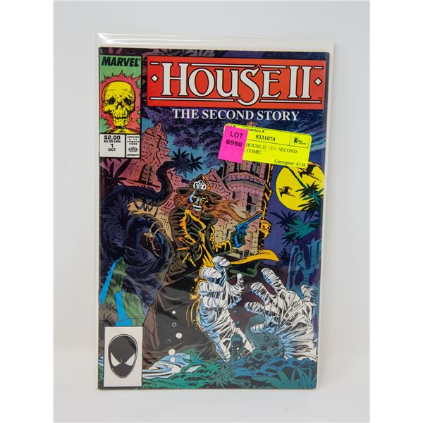 MARVEL HOUSE II: THE SECOND STORY #1 COMIC