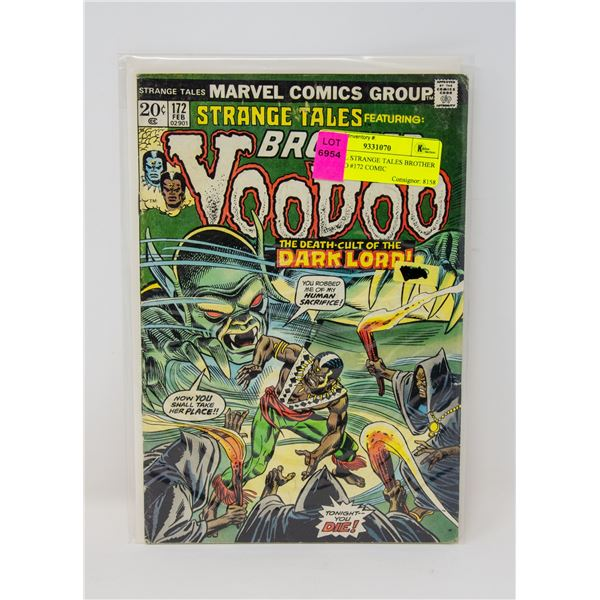 MARVEL STRANGE TALES BROTHER VOODOO #172 COMIC