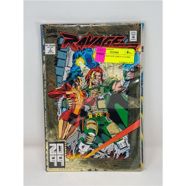 MARVEL RAVAGE 2099 #1-8 COMIC LOT