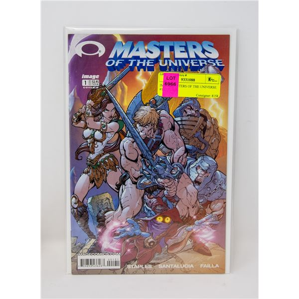 IMAGE MASTERS OF THE UNIVERSE #1 COVER B